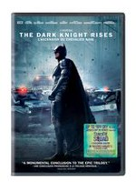 The Dark Knight Rises (DVD + 'Suicide Squad' Ticket Offer) (Bilingual)