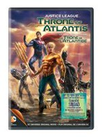 DCU: Justice League - Throne Of Atlantis (DVD + 'Suicide Squad' Ticket Offer) (Bilingual)