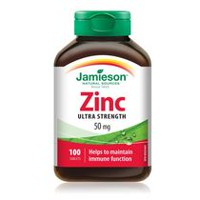 Jamieson Zinc Tablets, 50 mg