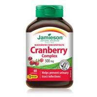 Jamieson Maximum Concentrate Cranberry Complex Capsules, 500 mg