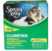 Special Kitty Immediate Odour Control Fresh Scent Clumping Cat Litter