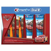 Oral-B & Crest Kid's Special Pack Featuring Disney & Pixar's Cars