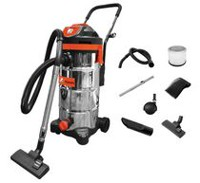 Kubota 12 Gallon Stainless Steel Wet/Dry Vacuum
