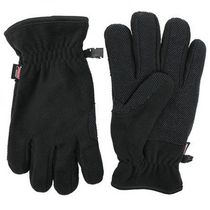 Dickies Men's Fleece Gloves Black Medium