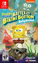 Jeu vidéo Spongebob SquarePants: Battle for Bikini Bottom - Rehydrated pour (Nintendo Switch)