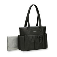 Baby Boom Carry All Tote Diaper Bag - Black