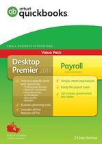 Intuit QuickBooks® Desktop Premier 2017 with Payroll