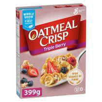 Oatmeal Crisp Triple Berry Cereal