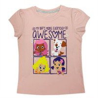 Bubble Gupies Girls Short Sleeve T-Shirt 2T