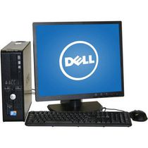 "Dell Refurbished 780 SFF Desktop with Intel Core 2 Duo 3.0GHz Processor + 19"" LCD Monitor"
