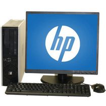"HP Refurbished 7800 SFF Desktop with Intel Core 2 Duo 3.0GHz Processor + 19"" LCD Monitor"