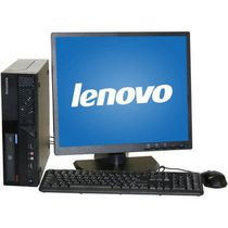 "Lenovo Refurbished M58 SFF Desktop with Intel Core 2 Duo3.0GHz Processor + 19"" LCD Monitor"