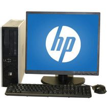 "HP Refurbished DC5800 SFF Desktop with Intel Core 2 Duo 3.0GHz Processor + 19"" LCD Monitor"