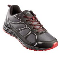 Athletic Works Men's Otto Athletic Shoes Grey & Red 10