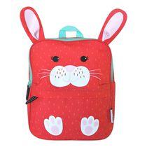 ZOOCCHINI - Toddler, Kids Everyday Square Backpack - Daycare, Nursery, Kindergarten, School Bag - Bella the Bunny