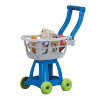 98ad65b24e9fb American Plastic Toys Kid's Cart Set. Includes 5 Boxes of Groceries. 1  Review