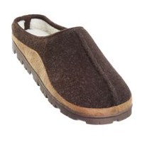 Canadiana Men's Mac Campus Slippers Brown 9-10