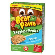 Pattes d'ours Légumes et Fruits Avoine