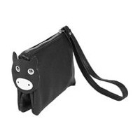 Moxy Women's Animal Top Zip Wristlet Wallet
