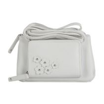 Moxy Women' stop Zip Mini Cross Body White Wallet