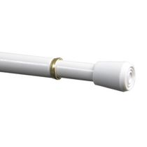 "Mainstays Tension Rod 28-48""  - White"