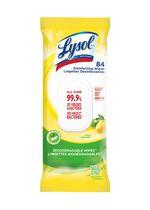 LINGETTES DESINFECTANTES LYSOL® pack plat, Agrumes, 84 ct