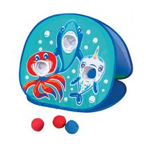 Fun Toss Game Double-Sided Pop-Up Target