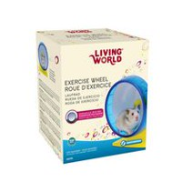 Living World Exercise Wheel, 14 cm, Blue