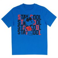 Snoopy Boys Short Sleeve Tee Shirt 10-12