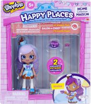 Shopkins Happy Places Lil' Shoppie Doll with 2 Petkins