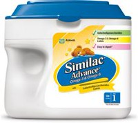 Similac Advance Step 1 Omega 3 & 6 Infant Nutritional Powder