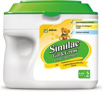 Similac Go & Grow Step 2 Omega-3 & 6 Nutritional Powder