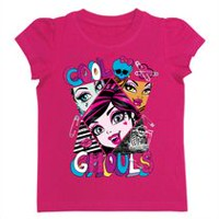 Monster High Girls' Short Sleeve T-Shirt 4
