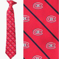 Montreal Boys NHL tie
