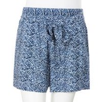 George Women's Soft Shorts Blue XS