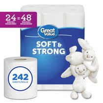 Great Value™ 2 Ply Ultra Soft Bath Tissue Papers