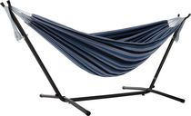 Vivere's Combo - Double Blue Lagoon Hammock with Stand (9ft)
