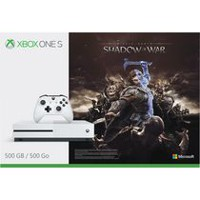 Xbox One S - 500 GB Shadow of War Bundle