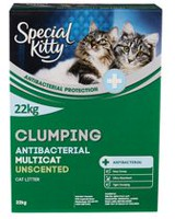 Special Kitty Clumping Antibacterial Multicat Cat Litter - Unscented