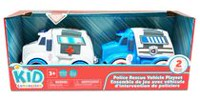 kid connectio Police Rescue Vehicle Playset