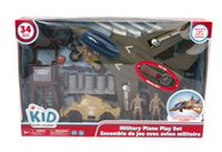 kid connection Military Plane Play Set