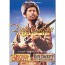 Davy Crockett Two Movie Set: Davy Crockett - King Of The Wild Frontier / Davy Crocket And The River Pirates