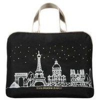AMF City Sketch Carry All Weekender Cosmetic Bag