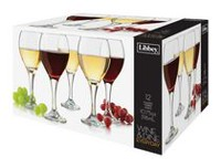 Libbey Glass Wine & Dine 11 oz./325 mL Everyday Wine Glass Set