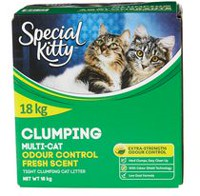 Special Kitty Clumping Odour Control Multi-cat Cat Litter - Fresh Scent