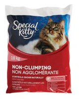 Special Kitty Non-Clumping Odour Control Unscented Cat Litter