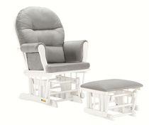 Lennox Glider Rocker Chair & Ottoman Combo