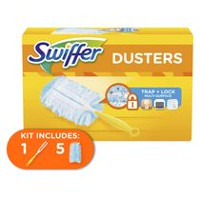 Swiffer 180 Dusters Starter Kit, Unscented