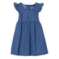 George Toddler Girls' Chambray Dress Blue 3T