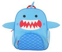 ZOOCCHINI - Kids Everyday Backpack - Sherman the Shark - Daycare School Bag